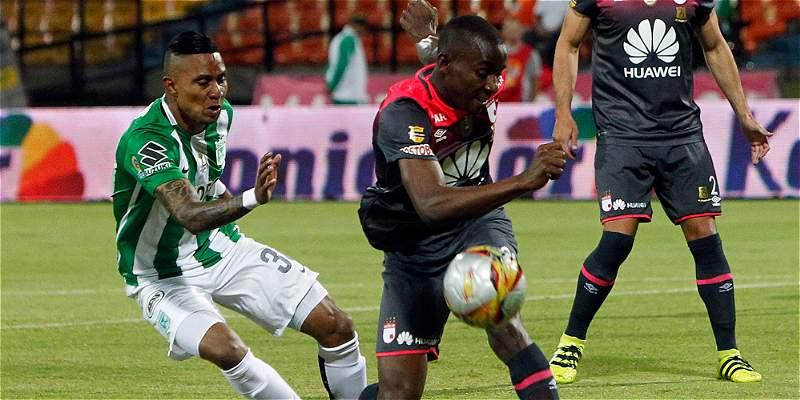 Santa Fe aguantó bien y empató en Medellín: 1-1 con Nacional en Copa