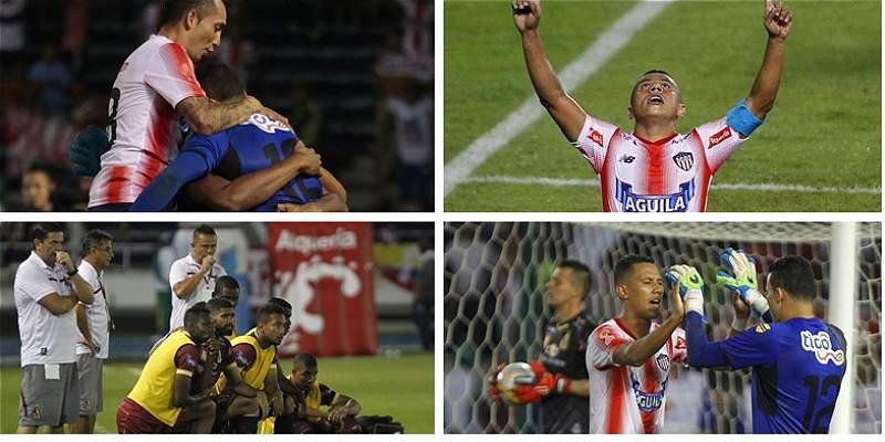 Junior vs. Tolima Copa Collage