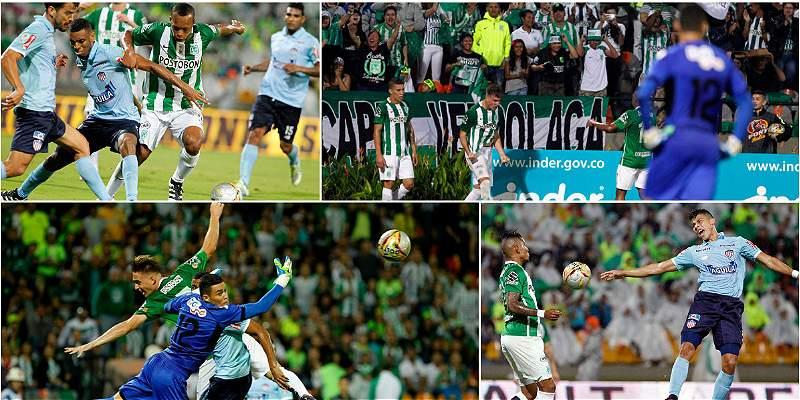 En imágenes: la victoria de Nacional 2-1 sobre Junior, en Medellín