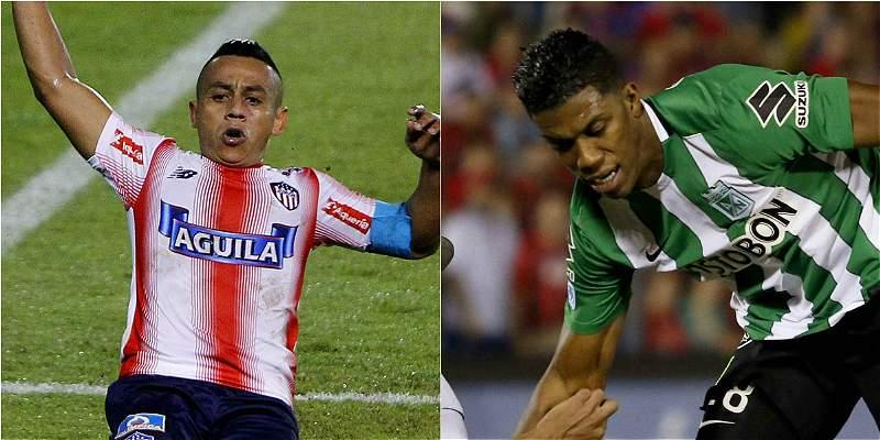 Junior Nacional final Copa Colombia - Copa Águila