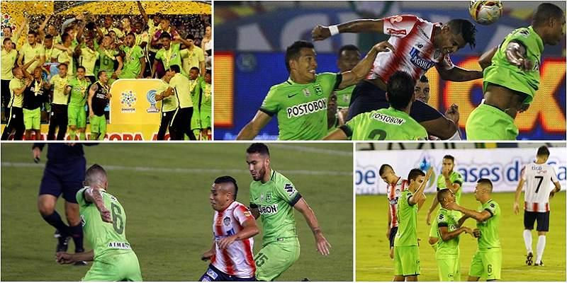 Las mejores fotos de la final de Copa Colombia entre Junior y Nacional