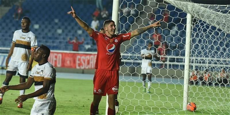 América debutó con triunfo en Copa Colombia: derrotó 3-2 al Atlético