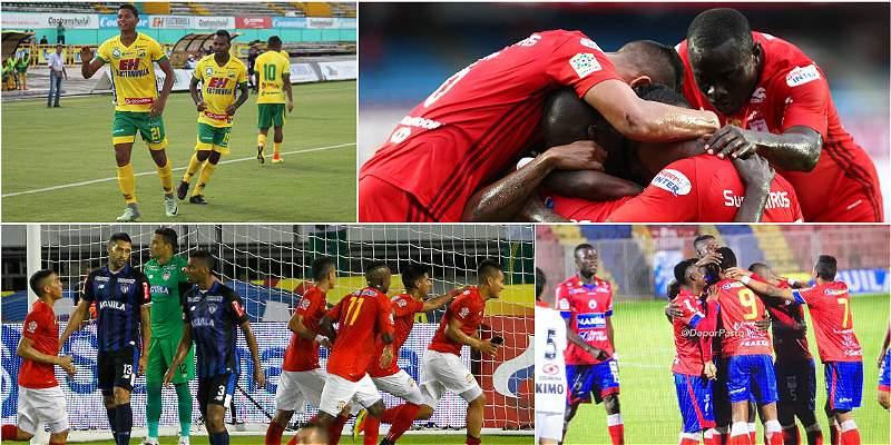 Copa Colombia ya tiene a los primeros clasificados a octavos de final