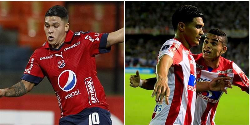 Nóminas definidas de Medellín y Junior para la final de Copa Colombia