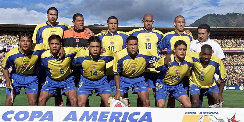 Selección Combia campeona de Copa América 2001
