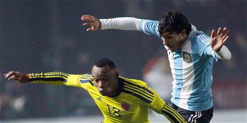 Las estadísticas de los últimos duelos entre Colombia y Argentina