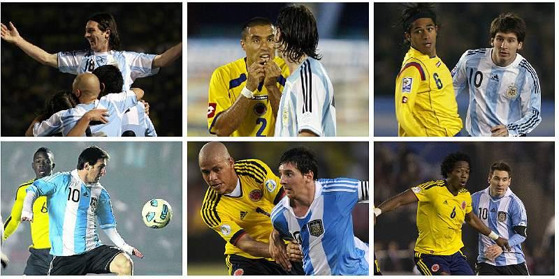 Así le ha ido a Lionel Messi enfrentando a Colombia