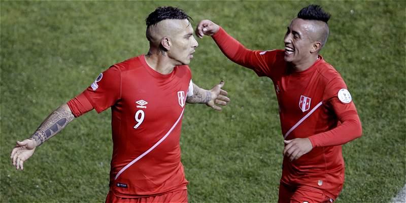 Perú, en su segunda semifinal consecutiva: venció 3-1 a Bolivia
