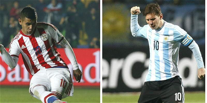Argentina y Paraguay decidirán el rival de Chile en final de Copa