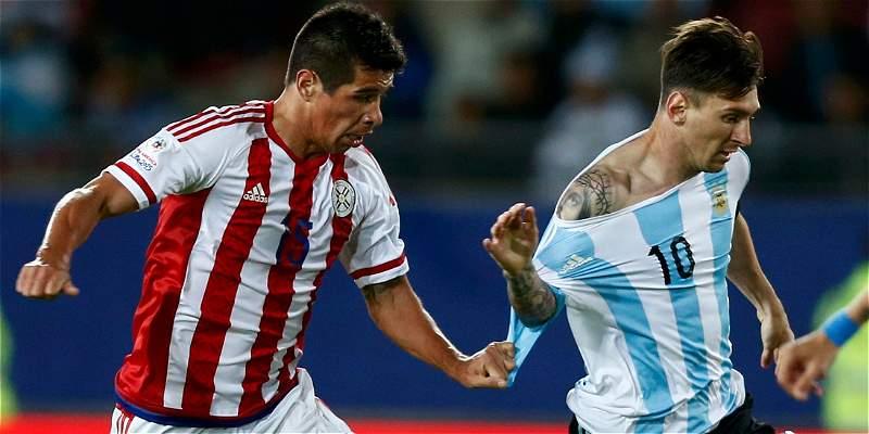 Argentina vs. Paraguay semifinal