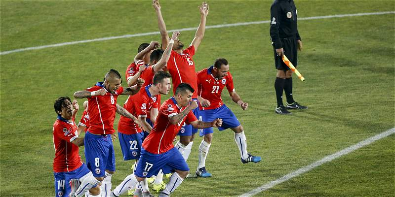 ¡Chile campeón!, las mejores fotos de la final que ganó en penaltis
