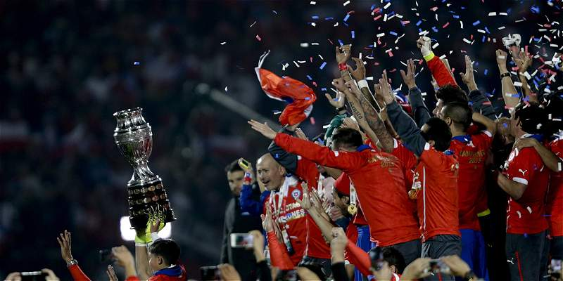 Palmarés: Chile entró al grupo de ganadores de la Copa América