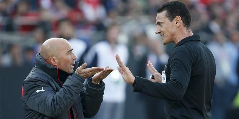 Wílmar Roldán no se complicó en la final de la Copa América