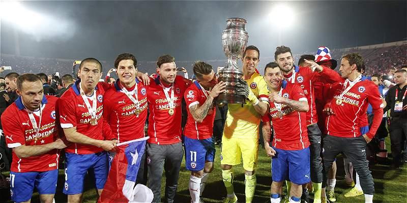 La selección de Chile disputará la Copa Confederaciones en el 2017