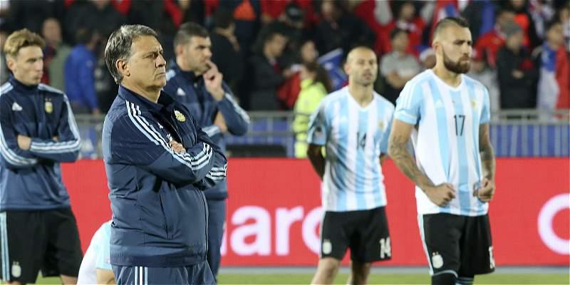 Martino, dos finales seguidas de Copa América y ni un título