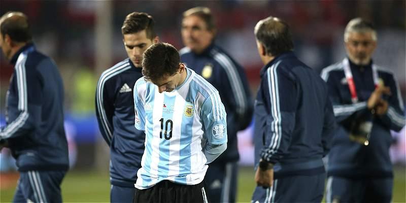 Prensa argentina, ataca con dureza a la selección por perder la final
