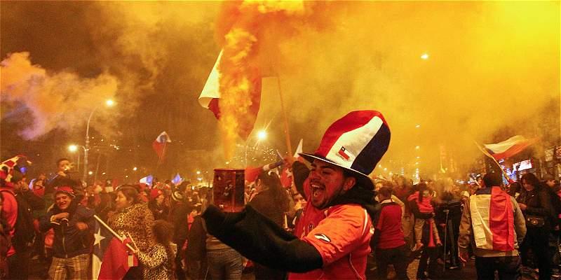 Celebración de chilenos por la Copa América, dejó tres muertos