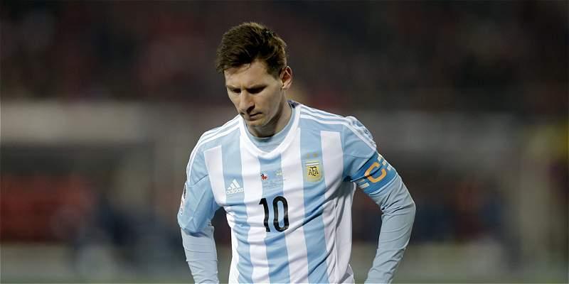 Messi habría rechazado recibir el premio al Mejor Jugador de la Copa