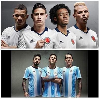 Camisetas collage selecciones
