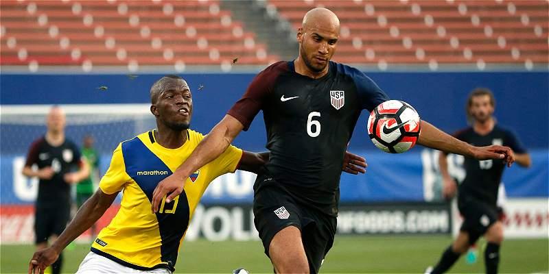 Estados Unidos superó 1-0 a Ecuador, en amistoso previo a Copa América