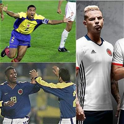Camisetas de Colombia en Copa América