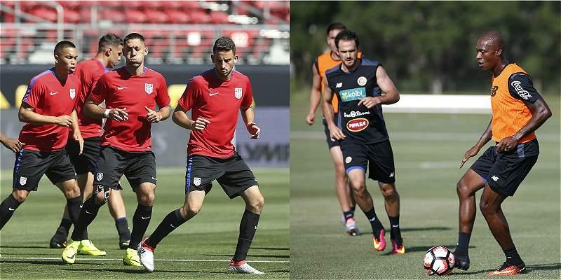 Estados Unidos y Costa Rica se juegan su futuro en la Copa América