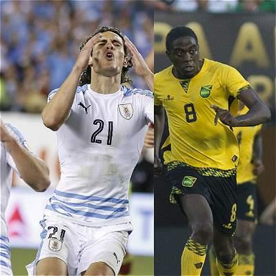 Uruguay buscará despedirse de la Copa con triunfo frente a Jamaica