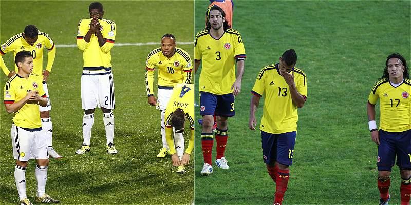 Colombia en cuartos de final de Copa: hace 12 años que no pasa de ahí