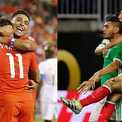 México vs. Chile: de aquí sale el rival de Colombia en 'semis' de Copa