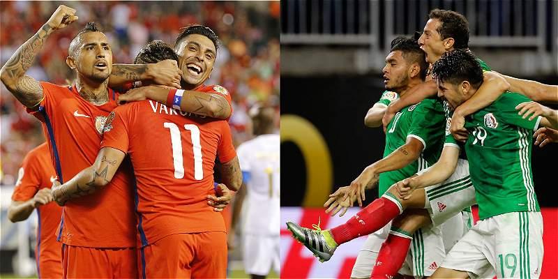 Chile y México