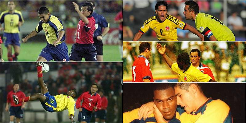 Momentos especiales de Colombia vs. Chile
