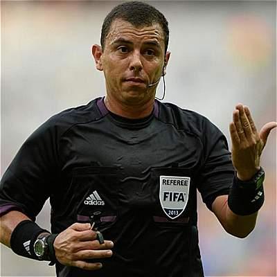Joel Aguilar: el 'árbitro de la nieve' que pitará Colombia vs. Chile