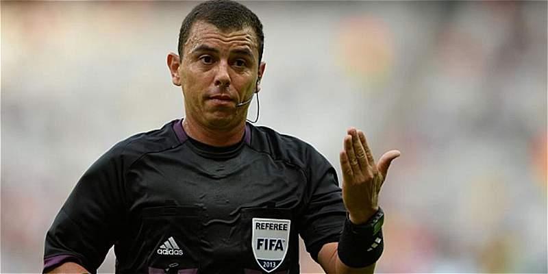 Joel Aguilar árbitro Copa América