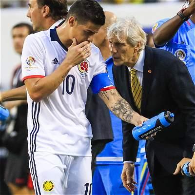 Colombia vs Chile (galería)