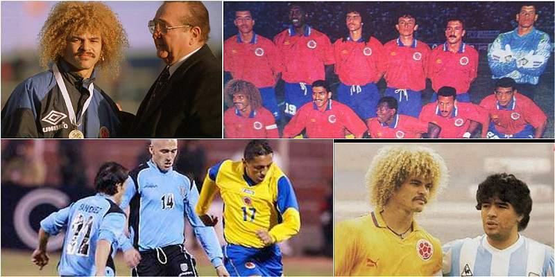Colombia en el partido del tercer puesto Copa América