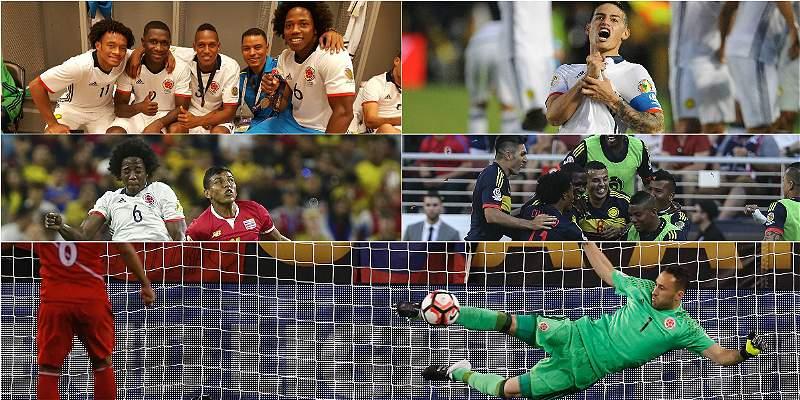 Los verdaderos buenos momentos de Colombia en la Copa América