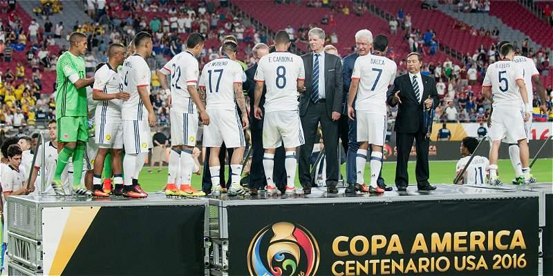 Colombia premios Copa América