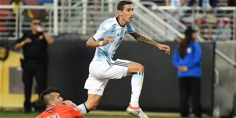 Heber Lopes tiene experiencia pitando partidos entre Argentina y Chile