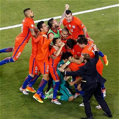 Chile se une a Uruguay, Brasil y Argentina como campeón consecutivo