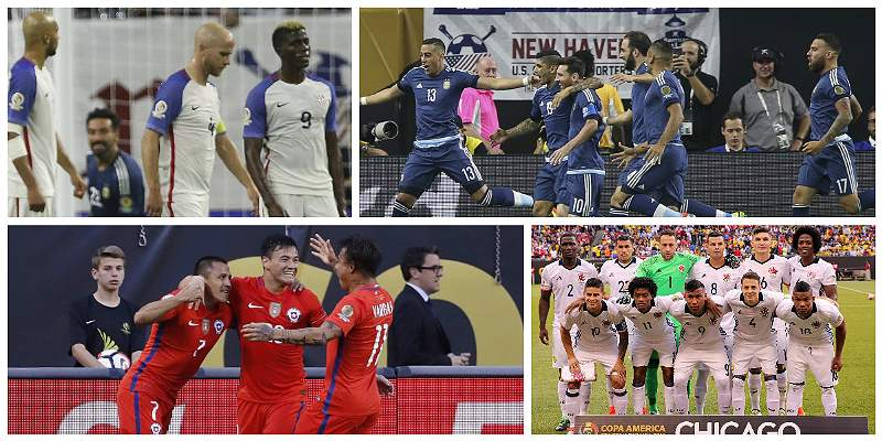 La Copa y algunos datos en 100 años: 8 campeones y 2.531 goles