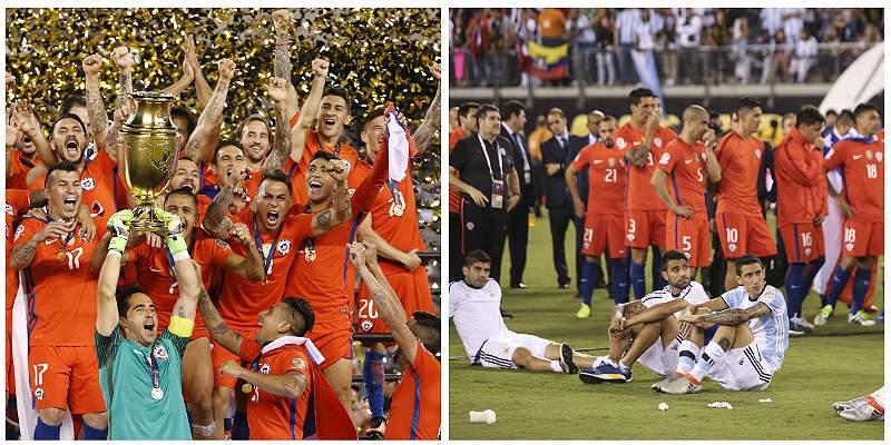 Las mejores imágenes de la final Copa América Centenario