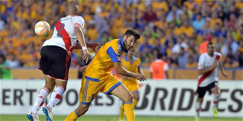Tigres y River empataron 0-0, en la ida de la final de la Libertadores