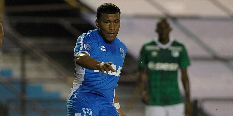 Roger Martínez jugó 27 minutos en el empate 0-0 entre Racing y Mineiro