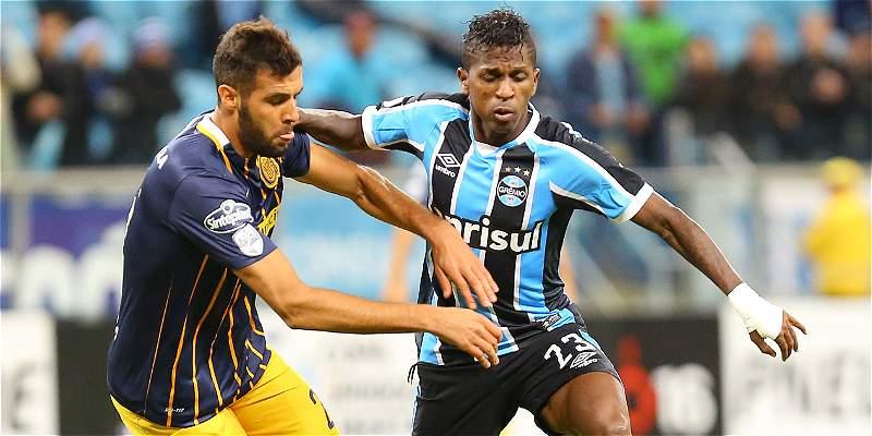 Rosario Central pegó primero y venció 0-1 a Gremio, en Brasil