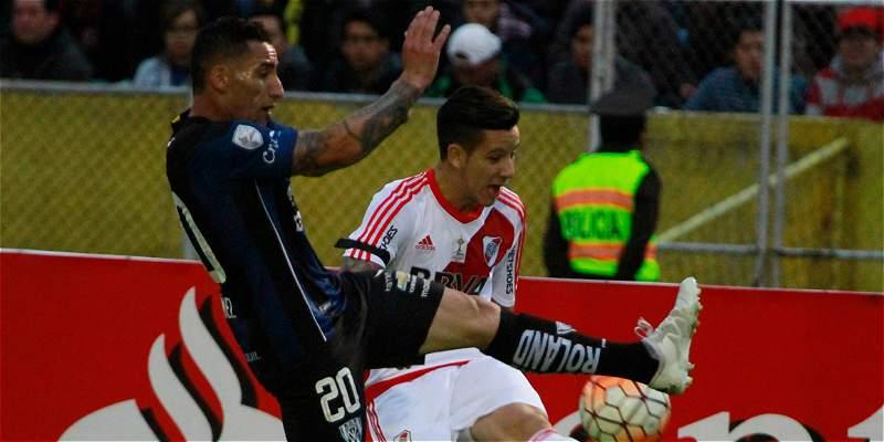 Independiente del Valle impuso su condición de local: 2-0 sobre River