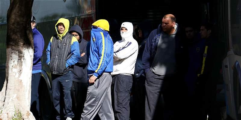 Más de 250 hinchas de Boca Juniors fueron detenidos en Asunción