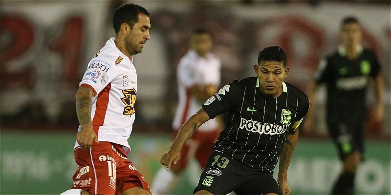 Nacional recibirá a Huracán por un cupo a cuartos de la Libertadores