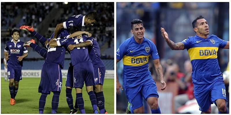 El Nacional y Boca Juniors miden sus fuerzas en la Copa Libertadores