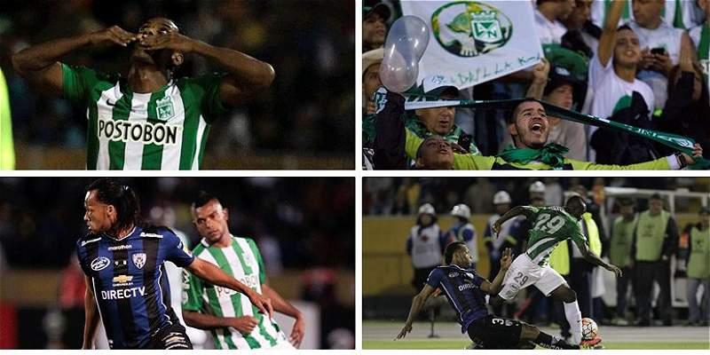 En fotos: así fue el primer duelo de la final de Copa Libertadores