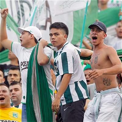 Hinchas Atlético Nacional
